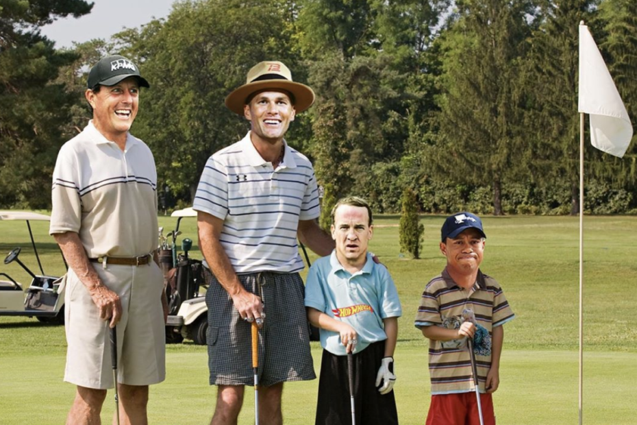 """Tiger Woods, Phil Mickelson, Peyton Manning, and Tom Brady to Play Golf Match for Coronavirus Relief – Tiger Woods, Phil Mickelson, Tom Brady, and Peyton Manning will be teeing it up on the golf course in a two-on-two competition dubbed """"The Match: Champions for Charity."""" As implied in the title, all proceeds garnered through fundraising will be donated to coronavirus relief efforts."""