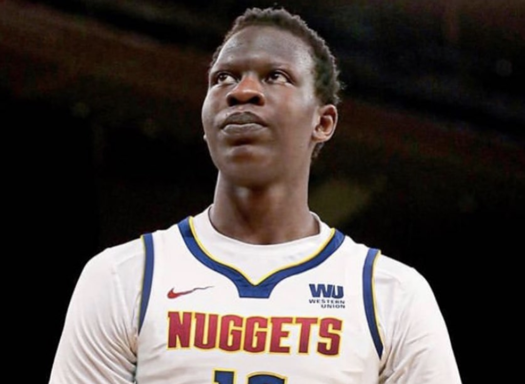 Nuggets Center, Bol Bol, Drug-Tested After Impressive NBA Debut – Denver Nuggets center, Bol Bol, played his first game of the 2019-2020 season in Wednesday's scrimmage against the Washington Wizards, scoring 16 points on 6-of-14 shooting, securing 6 blocks, and grabbing 10 rebounds. He even hit two shots from three, and was a significant factor in the Nuggets' 89-82 victory.