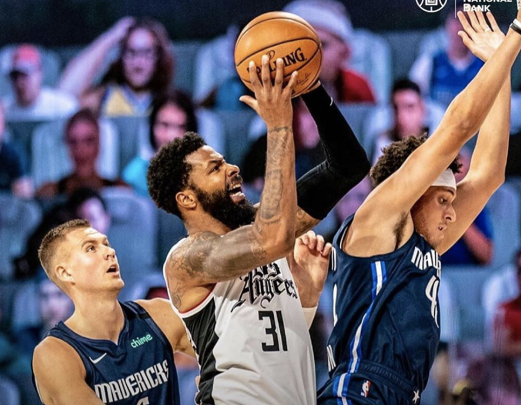 Did Marcus Morris Intentionally Steps on Mavericks Star, Luka Doncic's Sprained Ankle? – However despite all of the fouls and high emotions, the story of the game was not related to Rick Carlisle getting ejected, or Paul George scoring 35 points. It was Clippers, Marcus Morris, stepping on the shoe of Doncic's sprained left ankle.