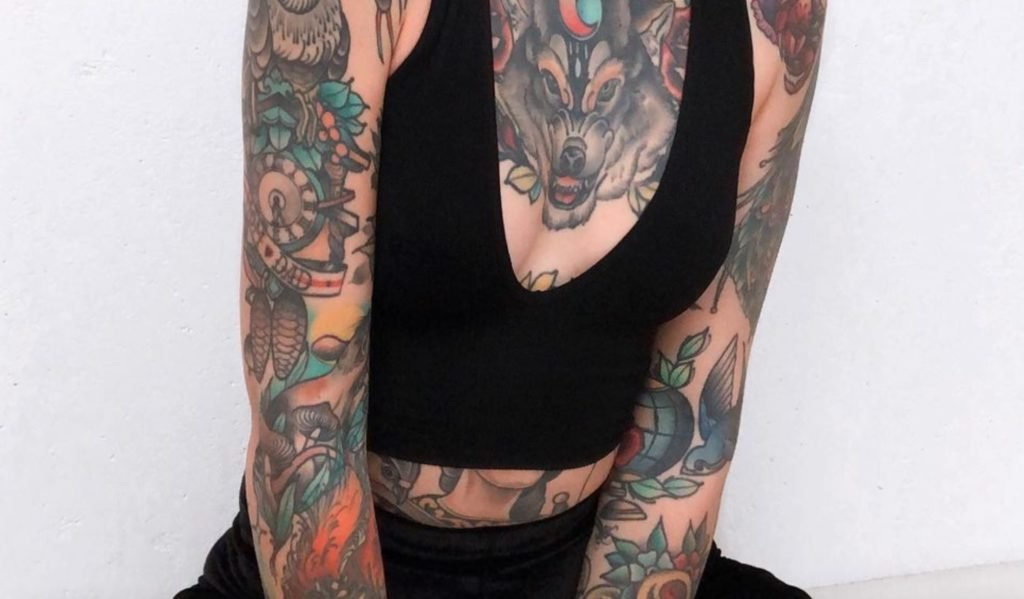 25 Extreme Full Body Tattoos That Shine from Top to Bottom