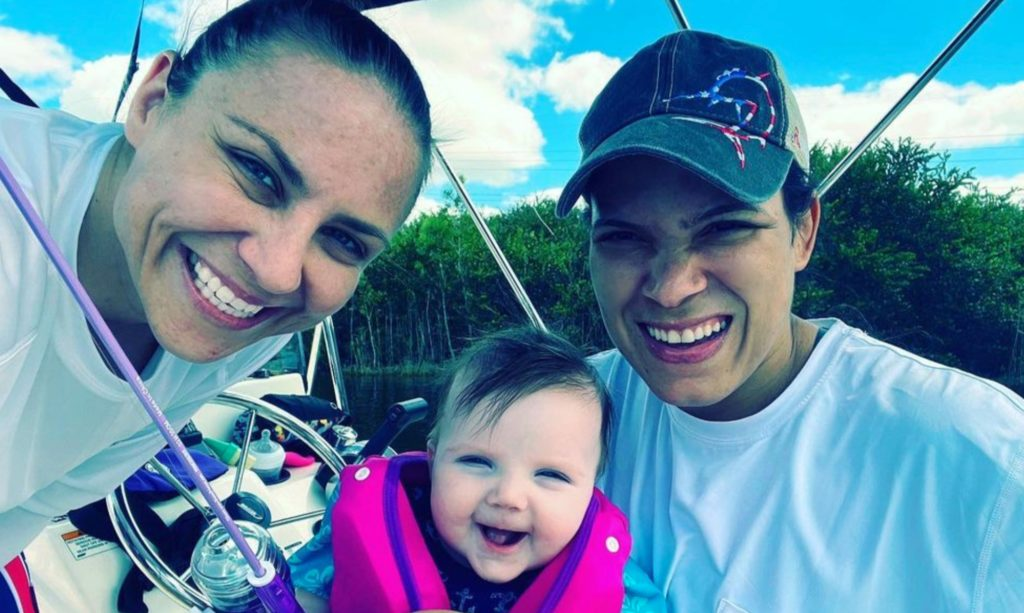 Almost 1 Year After UFC Power Couple Amanda Nunes and Nina Ansaroff Welcome Baby Girl, Here Are 10 Adorable Photos