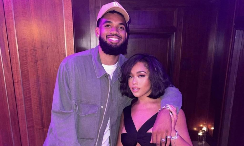 Karl-Anthony Towns and Girlfriend Jordyn Woods Support Each Through Dark Times