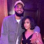 Karl-Anthony Towns and Girlfriend Jordyn Woods Support Each Other Through Dark Times