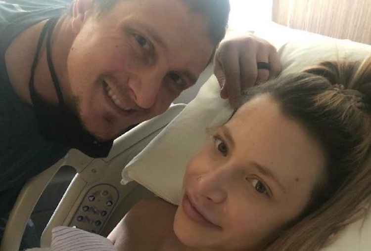 Alex Dickerson and Wife Jennifer Welcome Son