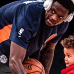 Knicks' Julius Randle's Son Wanted the Ball So Badly That He Forgot He Was Playing Basketball and Started Wrestling