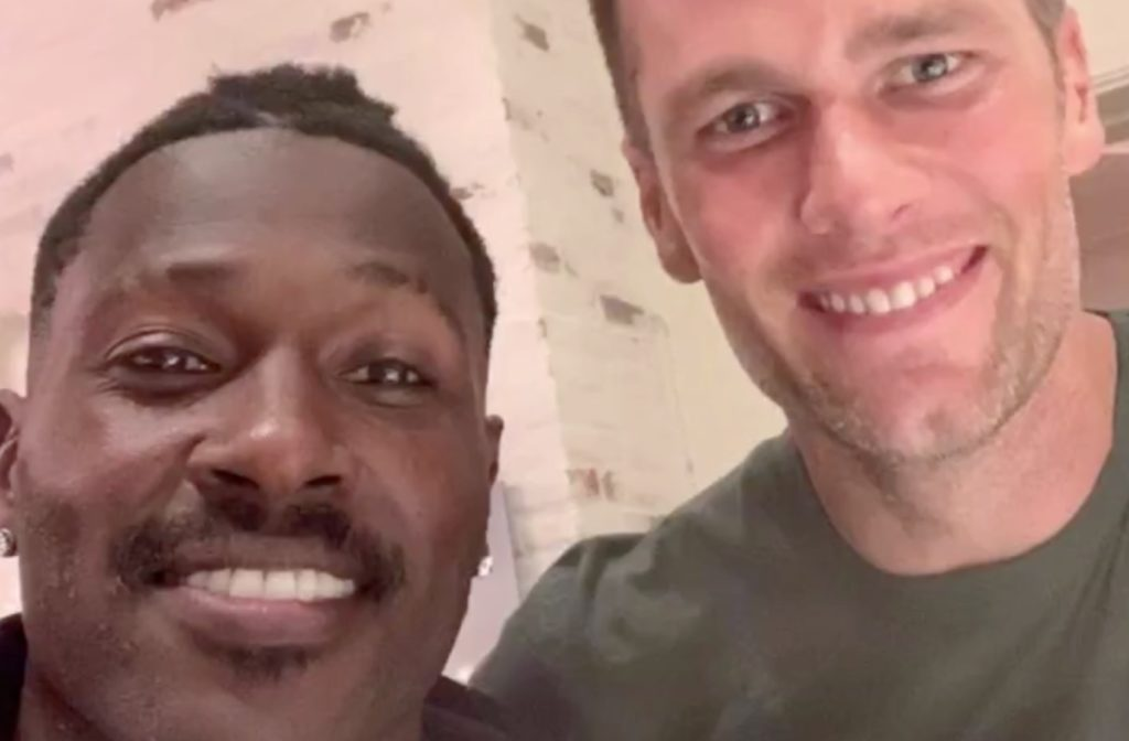 Antonio Brown Is Reportedly Tom Brady's Roommate as Brown Joins the Tampa Bay Buccaneers