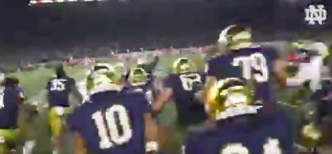 Notre Dame Upsets Clemson In Epic 2OT Finish