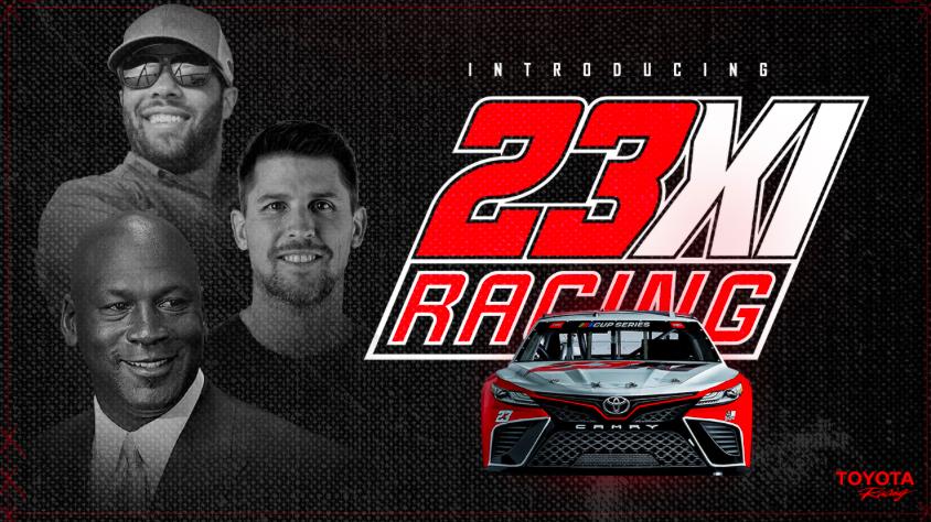 New Era In NASCAR As Bubba Wallace Reveals Air Jordan Number-23 Toyota Car