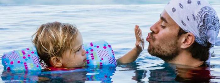 Enrique Iglesias And Anna Kournikova Iglesias' Twins Turn 3!