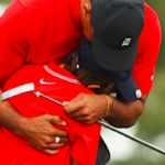 Like Tiger, Like Charlie? Tiger Wood's Son Has 'Copy Cat' Mannerisms Just Like His Pops On The Golf Course