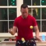 Guy Plays Epic Rendition Of 'We Wish You A Merry Christmas'On Piano...With Tennis Balls