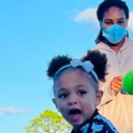 Serena Williams' Daughter, Olympia, Already Following In Her Mom's Footsteps With Her Tennis Swing