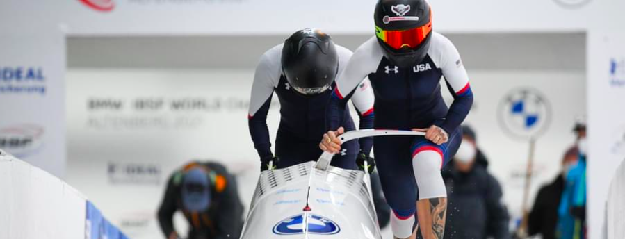 US Women's Bobsled Team Makes History!