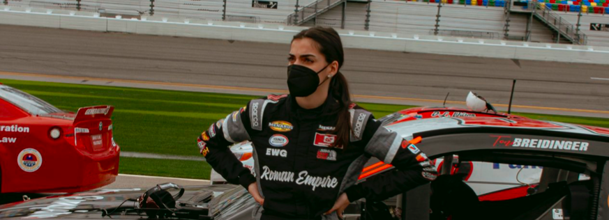 Toni Breidinger Becomes 'First-Ever Arabic-American Female Driver To Participate In Any NASCAR National Series'