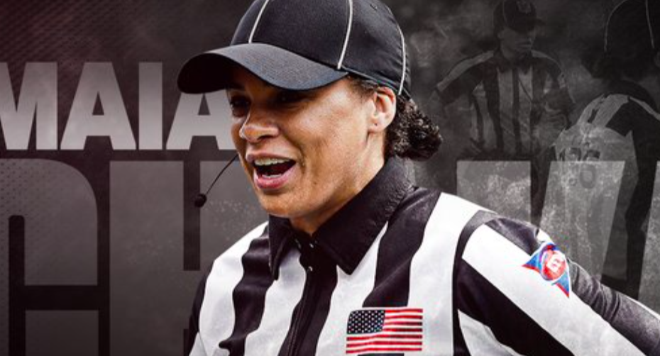Maia Chaka Part Of History Becoming 'First Black Woman Ever Named To The NFL's Officiating Staff'