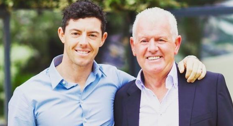Rory McIlroy Accidentally Hits Dad With Golf Ball At The Master's