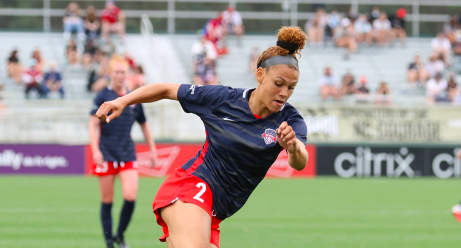 Trinity Rodman Part Of History As She Scores Goal In Professional Soccer Debut