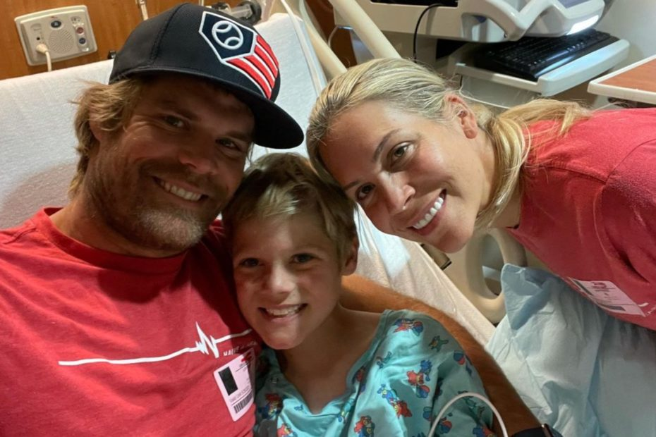 Retired NFL Star Greg Olsen Opens Up About 8-Year-Old Son's Battle With Rare Heart Condition