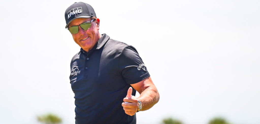 Find Out Who Inspires Phil Mickelson. Hint: He Just Won Another Super Bowl