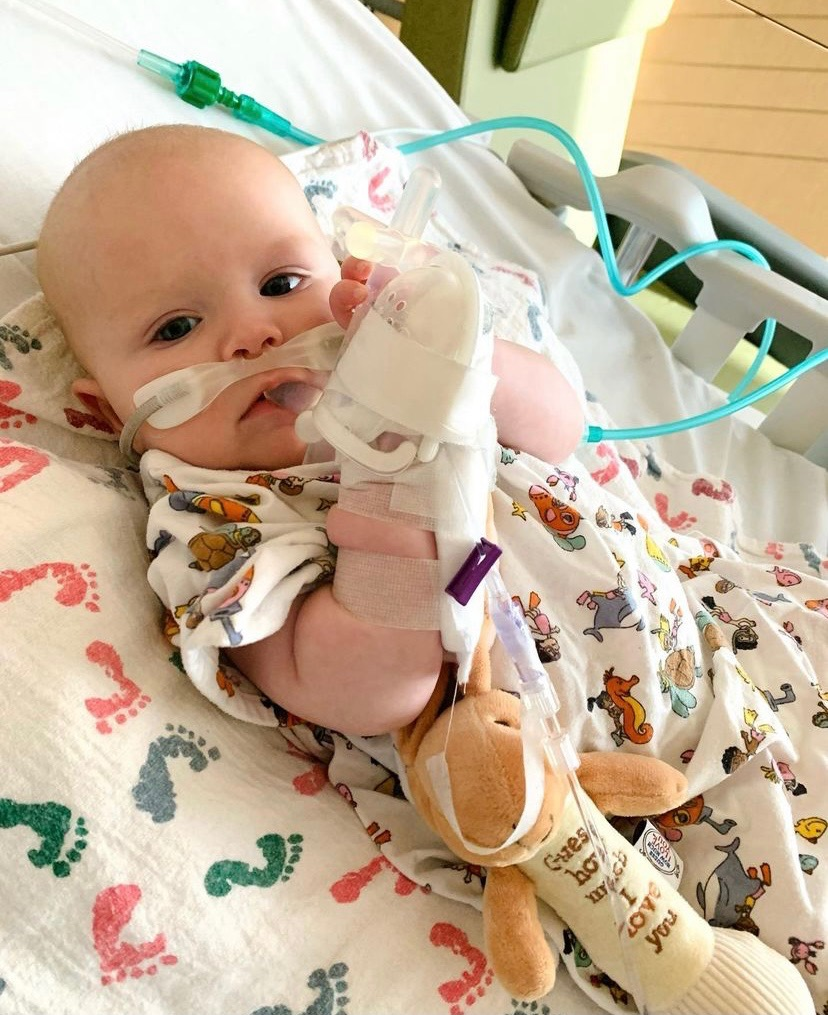 Carly Patterson Caldwell's 4-Month-Old Son Was Hospitalized with Common Respiratory Virus