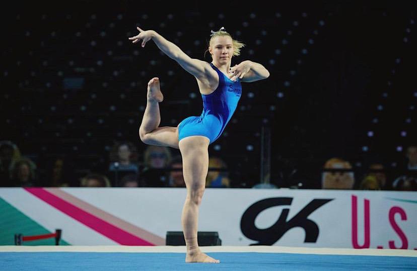 Veteran Olympian Simone Biles, 24, Reminds Fellow Gymnast Jade Carey, 21, to 'Have Fun' in the Midst of Pressure