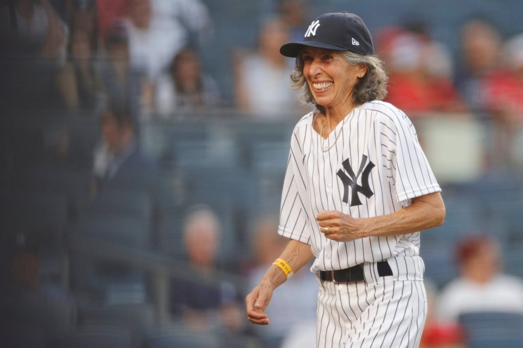 70-Year-Old Gwen Goldman Lives Out Inspiring Childhood Dream of Being the Yankees' Bat Girl