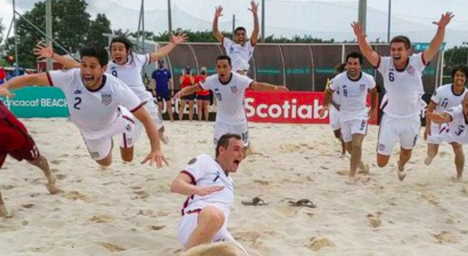 US Men's Beach Soccer Team Qualifies For FIFA Beach Soccer World Cup
