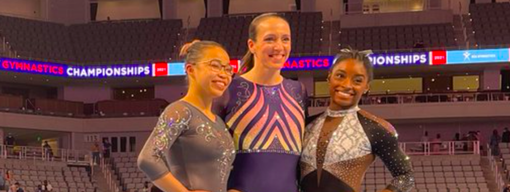 Gymnast, Wife, Mother Of 2, Olympic Medalist Competes At US Gymnastics Championships After 8 Year Retirement