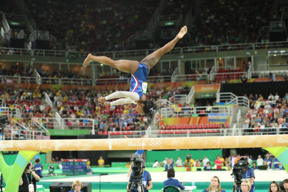 Simone Biles Admits She Is Feeling the Pressure of the 2020 Olympics