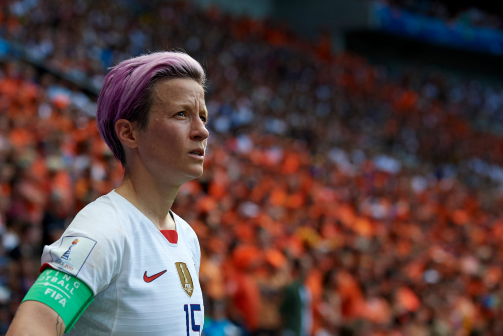 35-Year-Old Olympian, Megan Rapinoe, Reveals She Is 'Shocked' Following the Verdict of Equal Pay Lawsuit