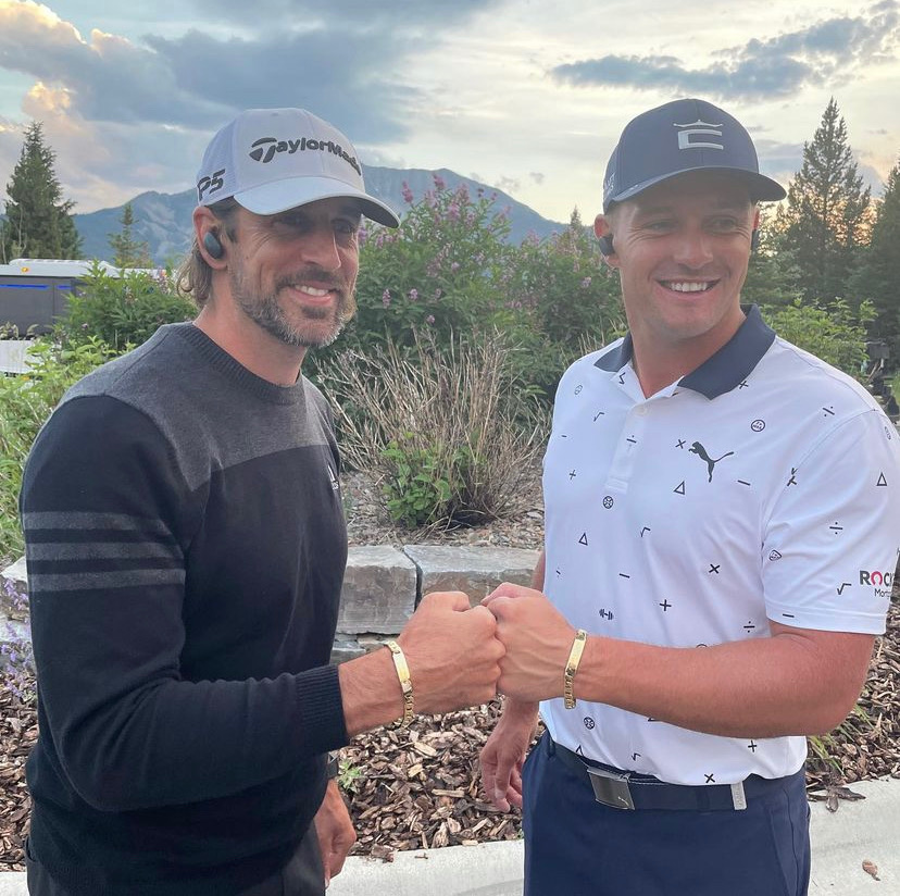 """37-Year-Old Aaron Rodgers Unfortunately Has Little to Say About His Future With the Packers – Tuesday's golf event """"The Match"""" showcased quite a lot. From From the golf skills of NFL greats to whether or not Aaron Rodgers returns to the Packers."""