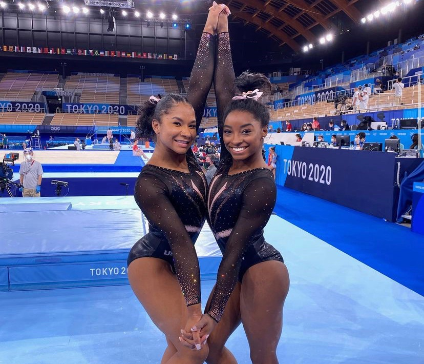Jordan Chiles and Grace McCallum Defend Simone Biles Surprising Decision to Withdrawl From  2020 Olympics: 'She's Not a Quitter'