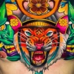 35 Bold Chest Tattoos for Men