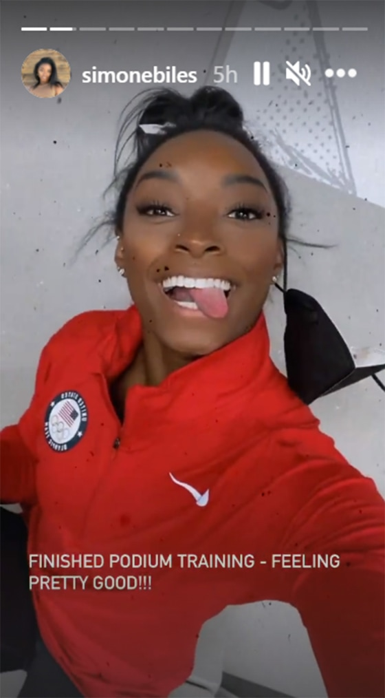 Simone Biles Shows Off Amazing Moves - Watch as She Lands Historic Vault During Podium Training – At 24 years old, Simone Biles is certainly bringing her A-game this Olympic season.