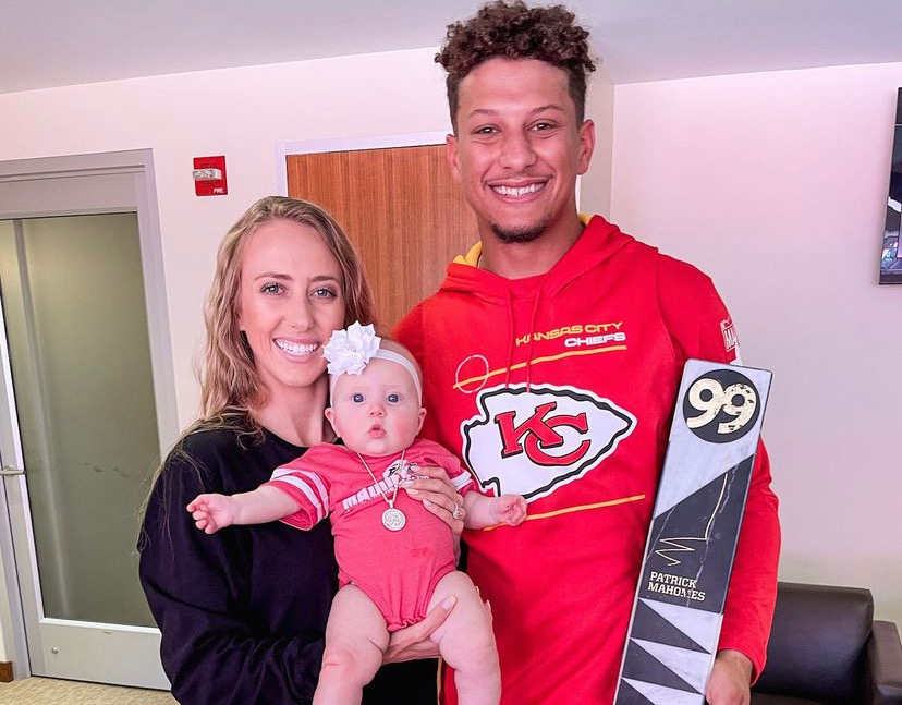 Patrick Mahomes' 5-Month-Old MegaBaby Surprises Him With Exciting News