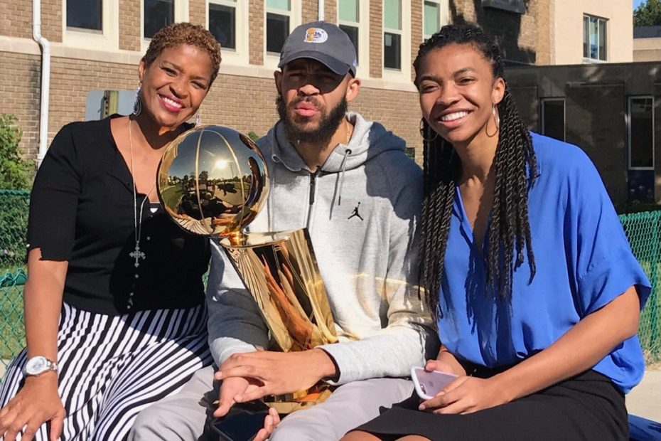 JaVale and Pamela McGee Make History as 1st Ever Mother-Son Olympic Duo