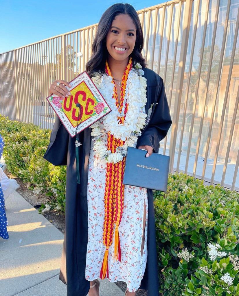 Vanessa Bryant Drops 18-Year-Old Natalia Off at College: Says Late Husband Kobe is 'So Proud' – Vanessa Bryant, wife of the late Kobe Bryant, took to Instagram to announce that her eldest daughter is going off to college.