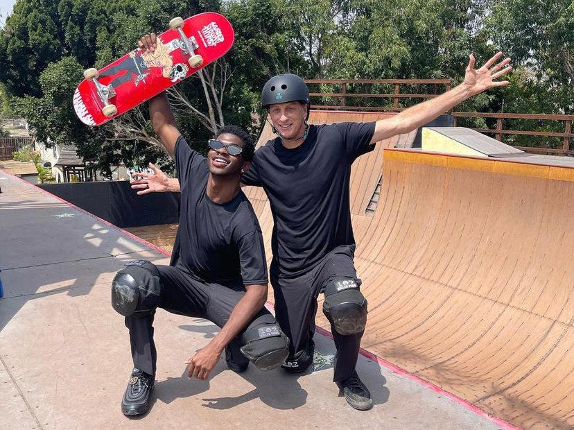 22-Year-Old Grammy Winning Rapper Lil Nas X Collaborates With Legendary Skateboarder Tony Hawk