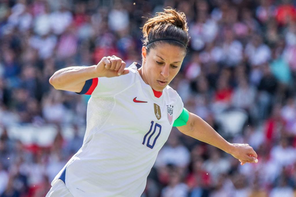 39-Year-Old Carli Lloyd, Sensational Women's Soccer Player, Rejects Comparison to Tom Brady