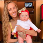 Brittany Matthews and 6-Month-Old Daughter Sterling Celebrate Patrick Mahomes' First Game of the Season!