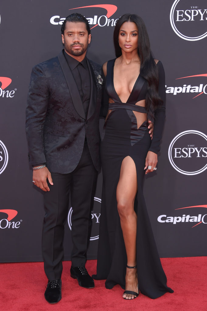 Ciara's Gorgeous Take on Husband Russell Wilson's Iconic Seahawks Jersey During 2021 Met Gala – American singer and songwriter, Ciara, walked the red carpet dressed head to toe in a beautiful outfit that was inspired by her NFL husband.