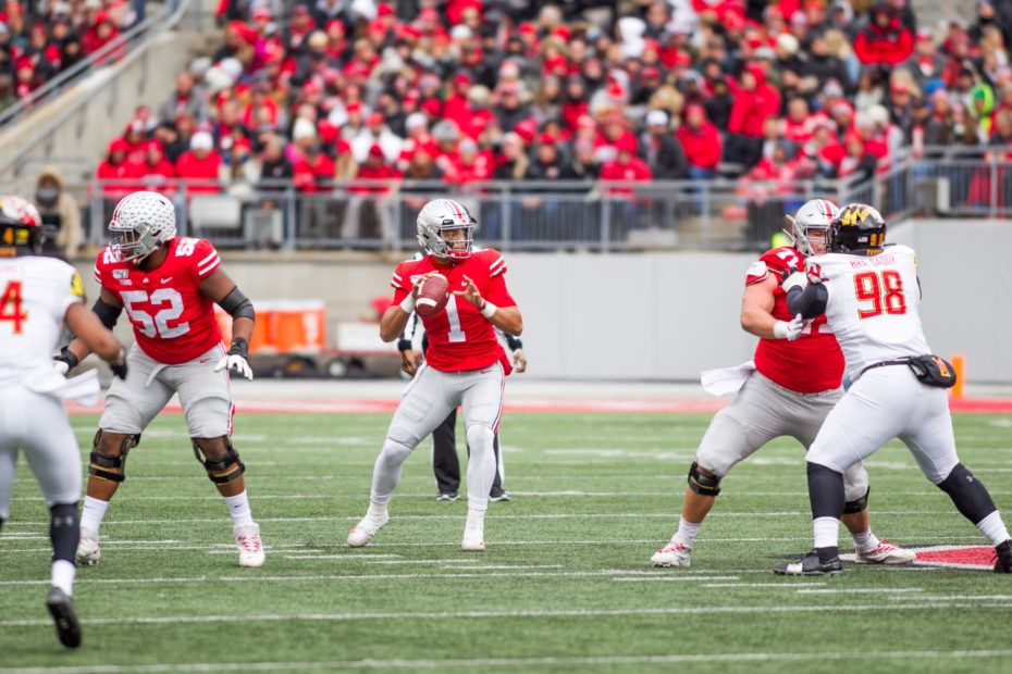 K'Vaughan Pope, Ohio State Linebacker, Has Burst of Anger on Field and Cusses Out School