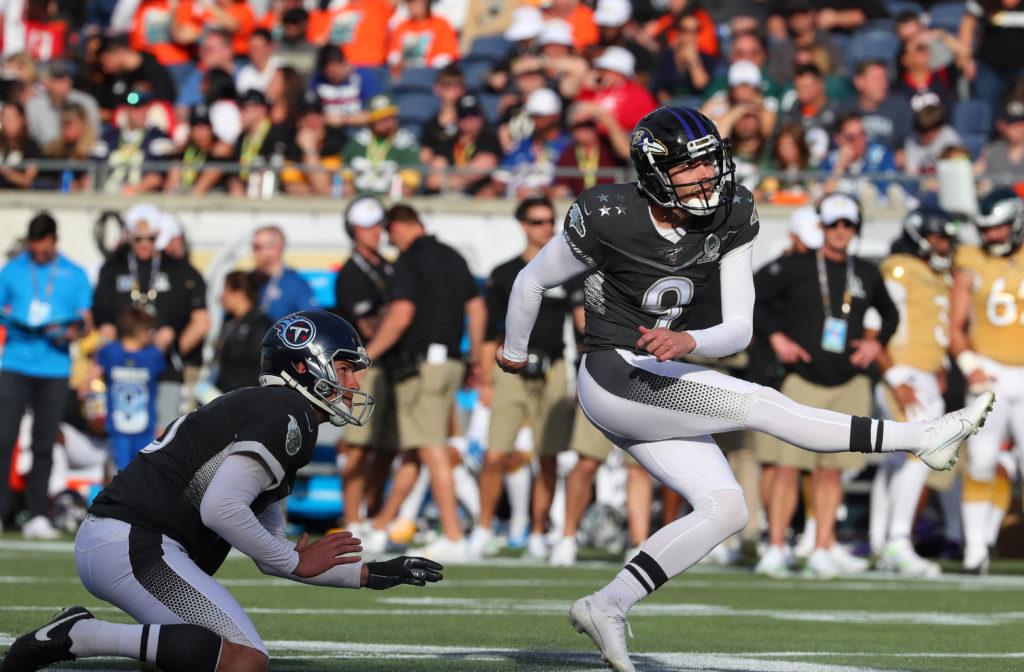 NFL Star Justin Tucker Kicks an Astonishing 66-Yard Field Goal