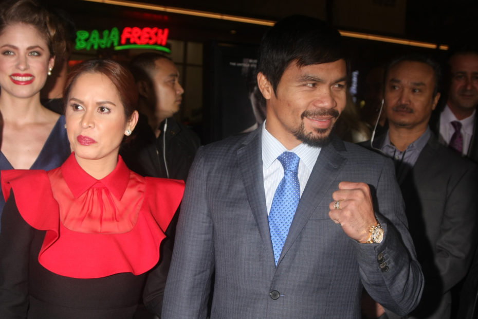 Professional Boxer Manny Pacquiao Experiencing His Most Difficult Match: Running For President in the Philippines