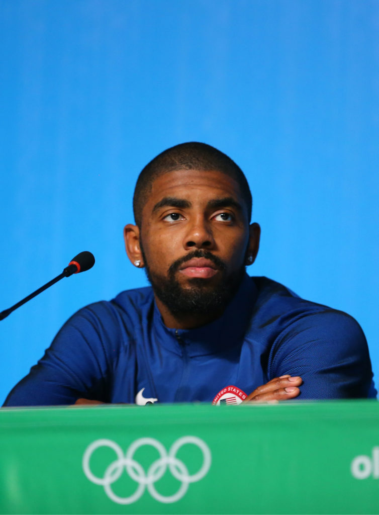 Kyrie Irving Clarifies Controversial Tweet About Masks Wasn't COVID-19 Related