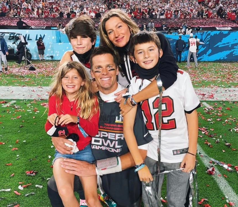 Tom Brady and His 14-Year-Old Son Jack Have Heartwarming Moment Together After Buccaneers Win